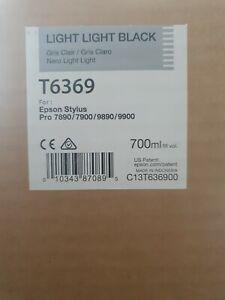 Original Epson T6369 Light, Light Black Ink Cartridge 700ml
