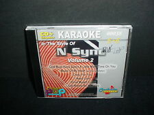 Karaoke In The Style Of  N Sync Music CD