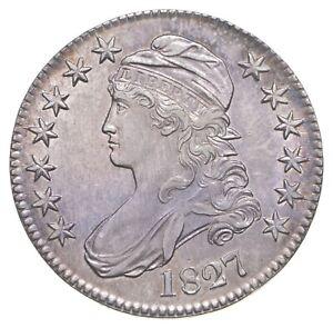 1827 Capped Bust Half Dollar *1874