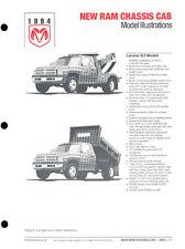 1994 Dodge Ram Pickup Chassis Truck Original Car Press Guide Brochure like