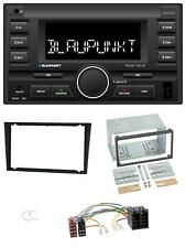 Blaupunkt MP3 USB 2DIN Bluetooth AUX Autoradio für Opel Corsa C Meriva Signum Ve