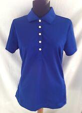 Nike Golf Dri-Fit Colbalt Blue Short Sleeve Golf Shirt - Size Small  NWT!