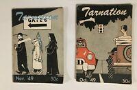 Tarnation University of North Carolina Tarheels UNC Mini Magazine Oct/Nov 1949