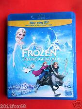 film 2 blu ray disc 3D+2D frozen il regno di ghiaccio olaf elsa kristoff anna gq