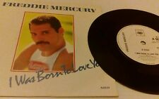 "I Was Born To Love You Freddie Mercury 7"" vinyl single record UK A6019 CBS"