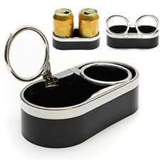Plastic Auto Cup Holder Dual Hole Bottle Holder For Boat Marine Car RV Truck