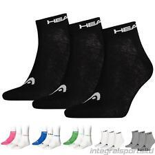 Head Chaussettes/Socquettes de Sport Mi-Hautes pour Hommes/Femmes (3 Paires)