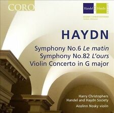"Haydn: Symphonies Nos. 6 ""Le matin"" & 82 ""L'ours""; Violin Concerto (CD,..."