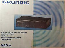 Grundig MCD 6 - ORIGINALE-6Disc CD Changer con caricatore OEM