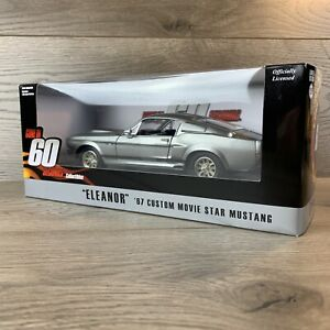 Shelby GT500E Eleanor 1967 Custom Gone In 60 Second - Greenlight Hollywood 1/24
