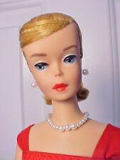 Vint. Barbie 1964  BLONDE SWIRL PONYTAIL in Custom Made Dress w/Access