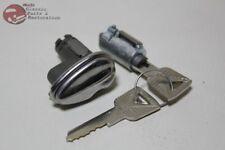 52-58 Ford Passenger Car Ignition Door Lock Cylinder Kit w OEM Keys New