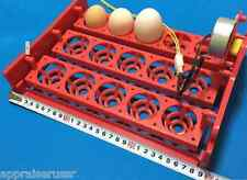 ✔ ✔ ✔ Automatic 15 Egg Turner Tray with Motor 1/240 revolutions per minute ✔ ✔ ✔