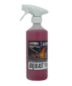 BBQ Blast 500ml - Grill and Barbecue Cleaner with Spray - Free Gloves - Relancer