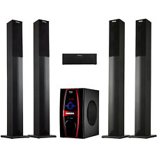 Frisby FS-6600BT 5.1 Stereo Home Theater System w/Tower Speakers & Bluetooth