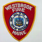 Westbrook Fire Department Cumberland County Maine ME Patch (F6)
