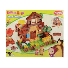 Costruzioni per bambini casetta Masha e Orso personaggi componibile 162pz 3+