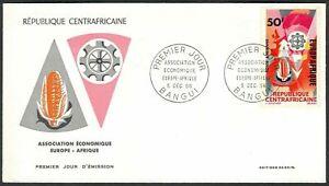 Central African Republik, 1966, European African Economy Association, FDC