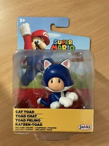 Cat Toad Figure 6cm Nintendo Jakks Mario