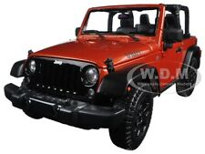 2014 JEEP WRANGLER WILLYS COPPER 1:18 DIECAST MODEL CAR BY MAISTO 31610