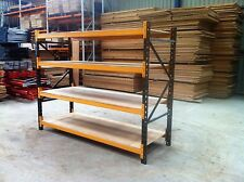 LINK 51 INDUSTRIAL COMMERCIAL WAREHOUSE  LONGSPAN PALLET SHELVING RACKING BAY