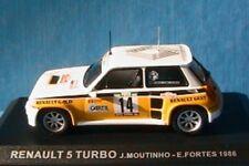 RENAULT 5 TURBO #14 RALLYE PORTUGAL 1986 MOUTINHO 1/43 IXO ALTAYA FORTES