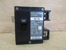 Eaton Cutler Hammer BW2200 Circuit Breaker 200 Amp 2 Pole 120/240 Volt