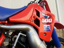 VINTAGE Honda CR500R 1987 Fuel Tank Wings AHRMA VMX CR 500R RC500 Works Bike VMX