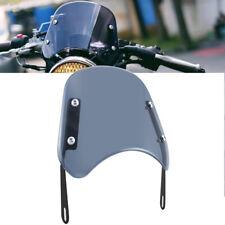 """Smoke Motorcycle Round Universal Headlight 5 - 7"""" Windshield Windscreen Touring"""