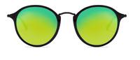 Ray-Ban Sonnenbrille Damen Herren RB2447 901/4J 49mm rund verspiegelt SG I2 H