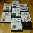 Sega Master System game bundle