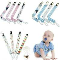 Dummy Clips Baby Teething Soother Pacifier Clip Chain Holder Strap Unisex