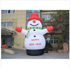 Lovely Giant Outdoor Christmas Inflatable Snowman for Christmas Decoration 3m  t