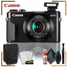 Canon PowerShot G7 X Mark II Digital Camera + Camera Case + Cleaning Kit