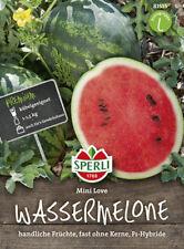 "Sperli Mini- Wassermelone "" Mini Love "" handliche Früchte kernarm Melonen Samen"