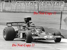 Ronnie Peterson JPS Lotus 72E British Grand Prix 1975 fotografía 4