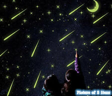 Glow at Night Stars Sky Moon Home Room Removable Wall Stickers Decal Decoration