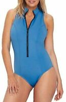 Magicsuit AZURE Deep Dive Chantelle Underwire One-Piece Swimsuit, US 14, UK 16