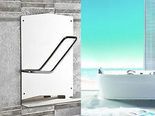 SUS 304 Bathroom Book Magazine Storage Shelf Wall Mount Hanger Chrome Polished