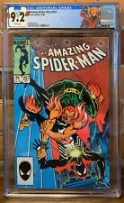 Amazing Spiderman #257 Marvel 10/84 CGC 9.2 Just Graded HOBGOBLIN LABEL