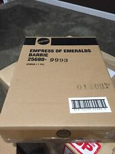 2000 EMPRESS OF EMERALDS ROYAL JEWELS COLLECTION BARBIE NEW NRFB + SHIPPER