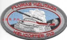"Plumas Helitack - Helicopter 512, CA  (4"" x 2.5"" size) fire patch"