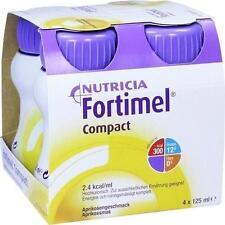 FORTIMEL Compact 2.4 Aprikosengeschmack 4X125 ml PZN 10743417