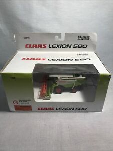 Claas Lexion 580 Combine With Grain Head By Norscot 1/87th Scale Box Damage