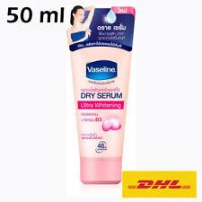 NEW! Vaseline Ultra Whitening Dry Serum Collagen+ Vitamin B 3 Deodorant 50 ml.