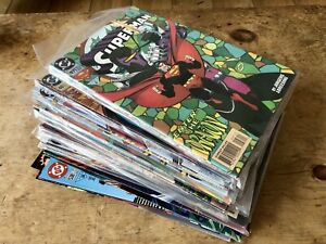 DC COMIC COLLECTION - ACTION, SUPERMAN, ADVENTURES OF, MAN OF STEEL NICE RUNS