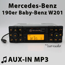 Mercedes Audio 10 BE3200 AUX-IN MP3 190er Radio W201 C-Klasse Kassettenradio RDS
