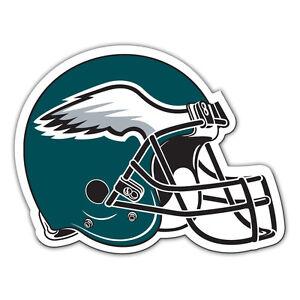 NFL Philadelphia Eagles 12 inch Auto Magnet Helmet Shaped by Fremont Die