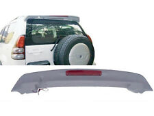 With Led Unpainted  Wing Spoiler  For Toyota Prado Fj120 J120 2003-2009