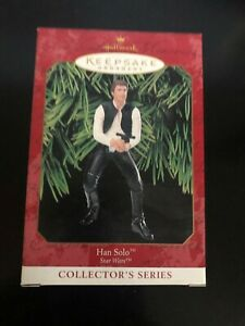 Star Wars Han Solo 1999 Hallmark Keepsake Christmas Holiday Tree Ornament
